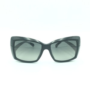 Chanel Chanel Black Squared Butterfly Sunglasses 5366-A 501/71
