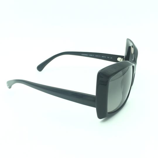 Chanel Chanel Black Squared Butterfly Sunglasses 5366-A 501/71 Image 1