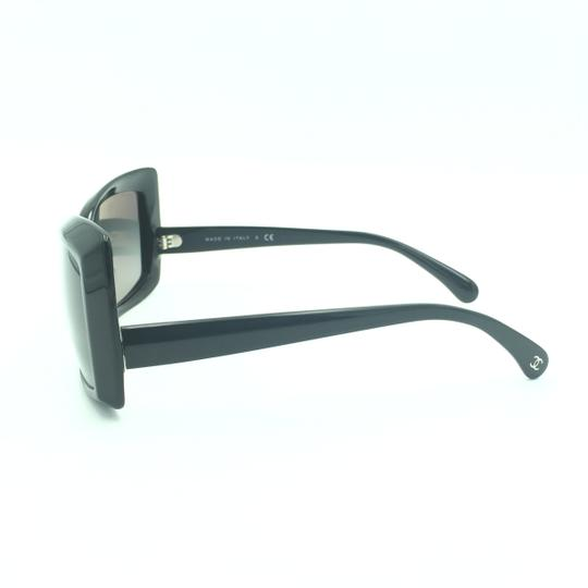 Chanel Chanel Black Squared Butterfly Sunglasses 5366-A 501/71 Image 3