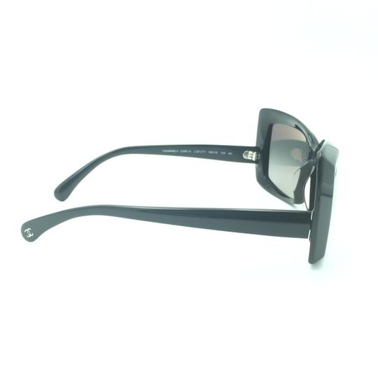 Chanel Chanel Black Squared Butterfly Sunglasses 5366-A 501/71 Image 4