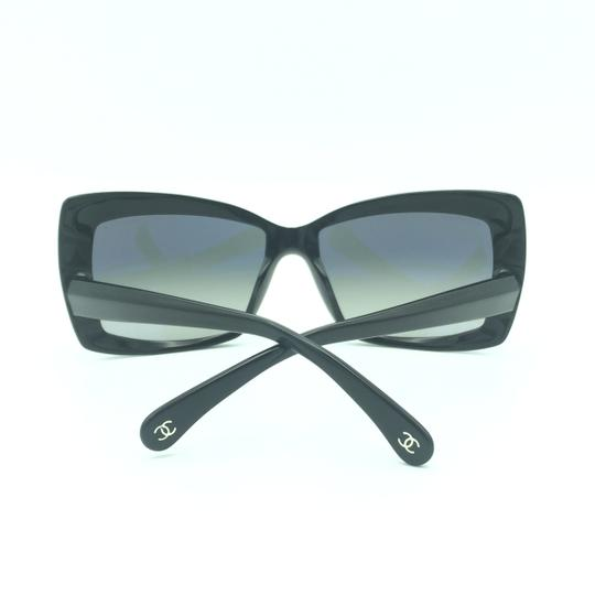 Chanel Chanel Black Squared Butterfly Sunglasses 5366-A 501/71 Image 7