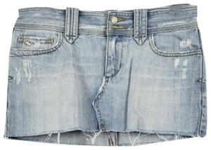 590c96066a Abercrombie & Fitch Denim Micro-mini Mini Skirt Blue