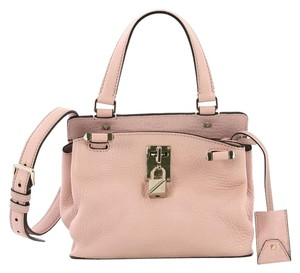 Valentino Leather Satchel in pink