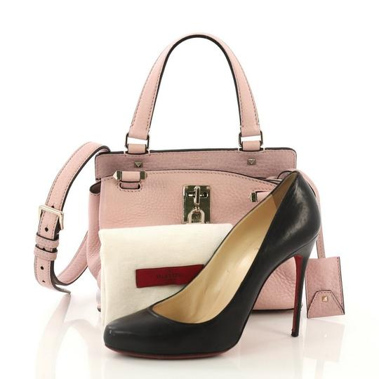 Valentino Leather Satchel in pink Image 1