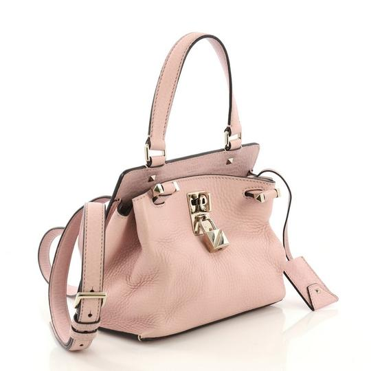 Valentino Leather Satchel in pink Image 2