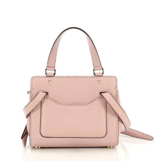 Valentino Leather Satchel in pink Image 3
