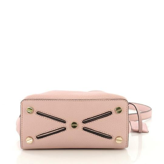 Valentino Leather Satchel in pink Image 4