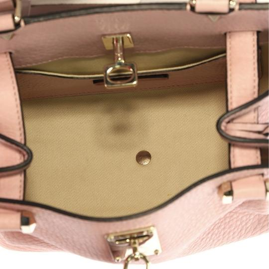 Valentino Leather Satchel in pink Image 5