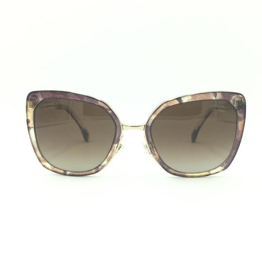 Preload https://img-static.tradesy.com/item/25239517/chanel-brown-and-gold-butterfly-polarized-4208-463s9-sunglasses-0-0-540-540.jpg
