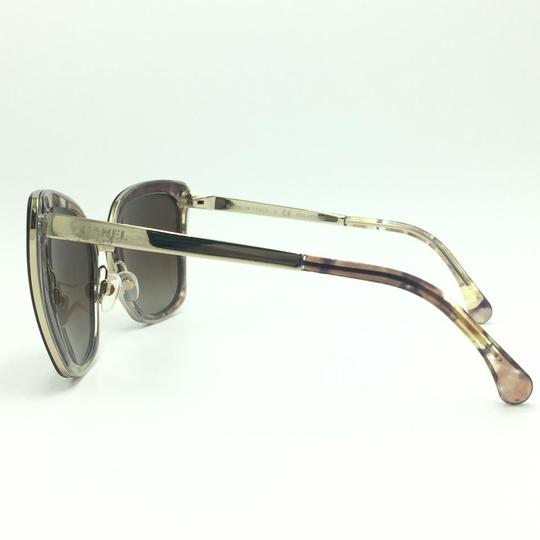 Chanel Brown & Gold Butterfly Polarized Sunglasses 4208 463/S9 Image 3