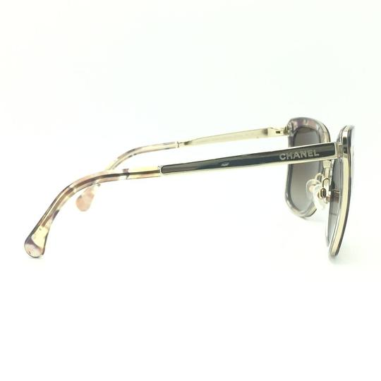 Chanel Brown & Gold Butterfly Polarized Sunglasses 4208 463/S9 Image 4