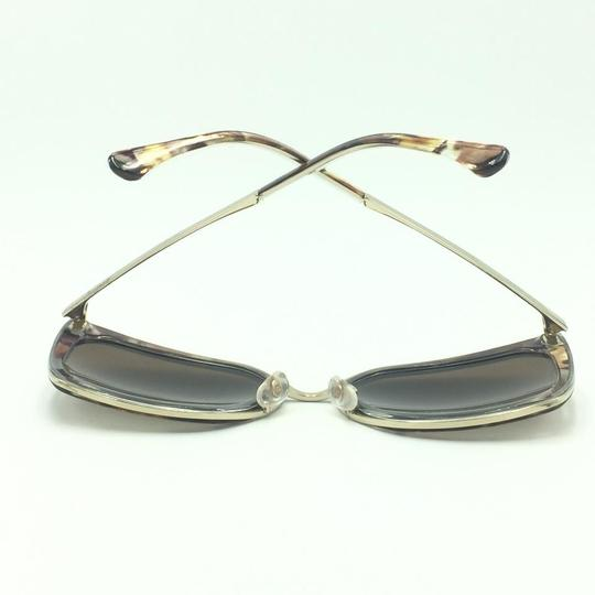 Chanel Brown & Gold Butterfly Polarized Sunglasses 4208 463/S9 Image 7