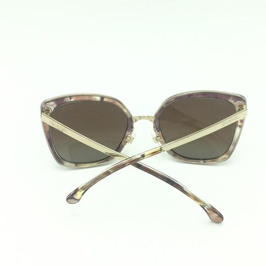Chanel Brown & Gold Butterfly Polarized Sunglasses 4208 463/S9 Image 8