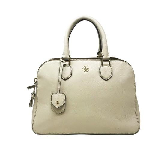 Preload https://img-static.tradesy.com/item/25239527/tory-burch-robinson-pebbled-triple-zip-tbbl-beige-leather-satchel-0-0-540-540.jpg