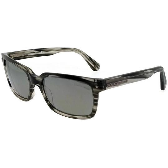 Roberto Cavalli RC834S-20B-56 Rectangle Men's Black Frame Grey Lens Sunglasses Image 1