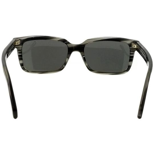 Roberto Cavalli RC834S-20B-56 Rectangle Men's Black Frame Grey Lens Sunglasses Image 4