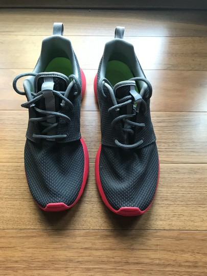 Nike gray, red Athletic Image 1