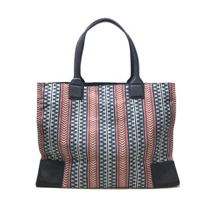 Tory Burch Tote in Navy Blue Multi color