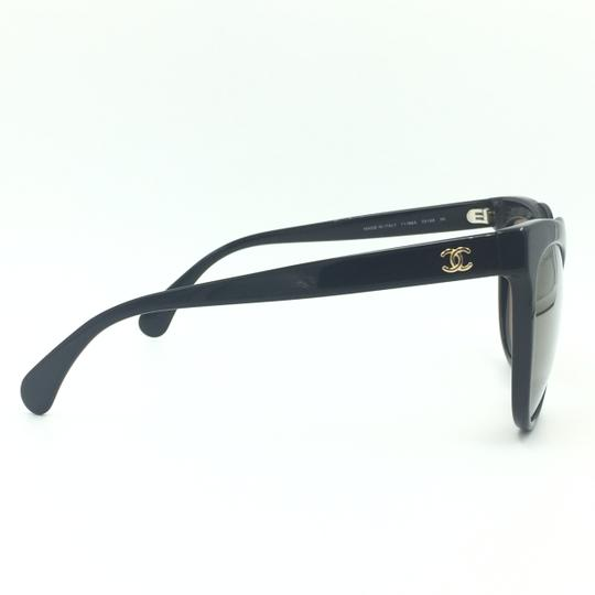 Chanel Cat Eye Black Bronze Mirrored Sunglasses 71186A S5168 Image 3