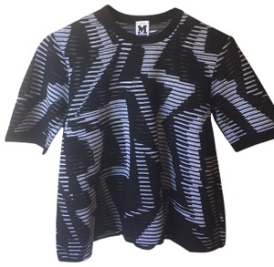 4738b2db8944 M Missoni T Shirt Black   White