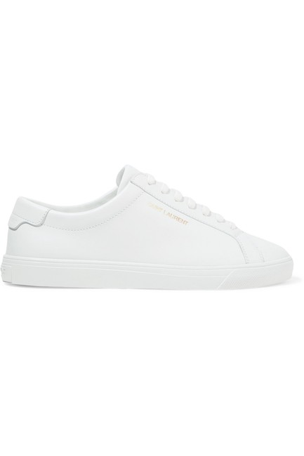 Saint Laurent Andy Leather Sneakers Size EU 35 (Approx. US 5) Regular (M, B) Saint Laurent Andy Leather Sneakers Size EU 35 (Approx. US 5) Regular (M, B) Image 1