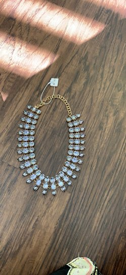 Ann Taylor Ann Taylor Beautiful Jeweled necklace Image 3