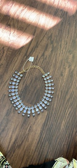 Ann Taylor Ann Taylor Beautiful Jeweled necklace Image 4