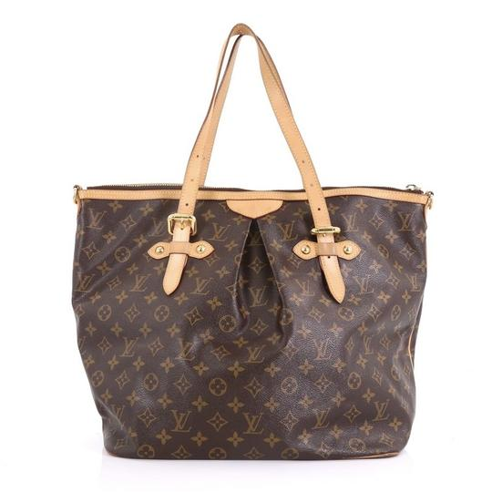 Louis Vuitton Canvas Tote in brown Image 3