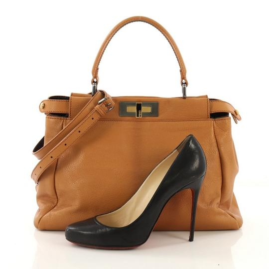 Fendi Leather Satchel in light brown Image 1