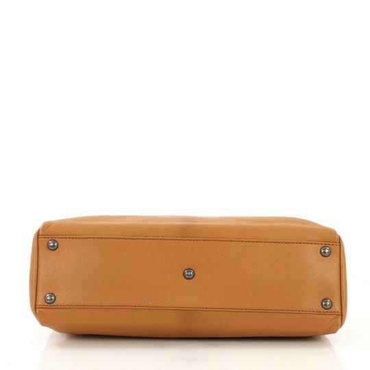 Fendi Leather Satchel in light brown Image 4