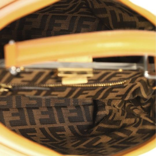Fendi Leather Satchel in light brown Image 6