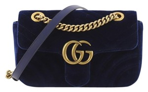 Gucci Velvet Shoulder Bag
