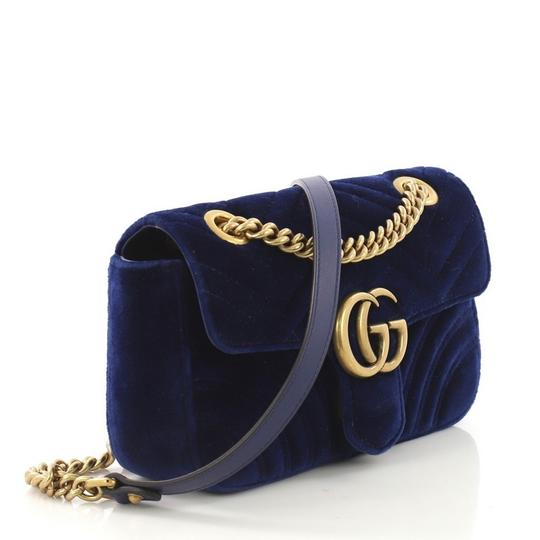 Gucci Velvet Shoulder Bag Image 2
