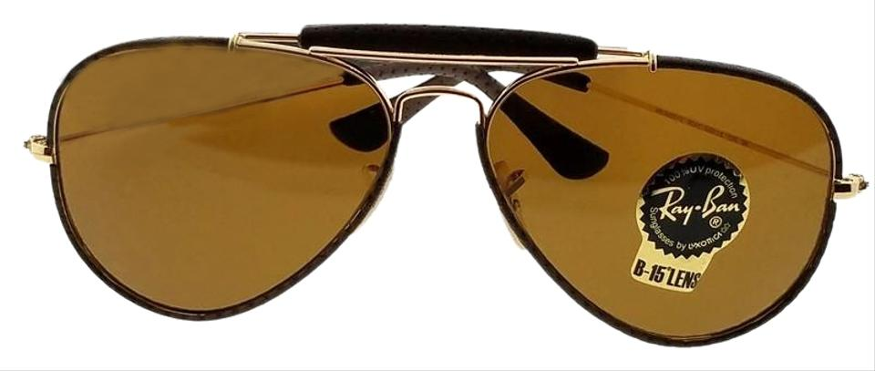 86fff2baa4 Ray-Ban Brown Rb3422q-9041-58 Aviator Unisex Frame Lens Sunglasses ...