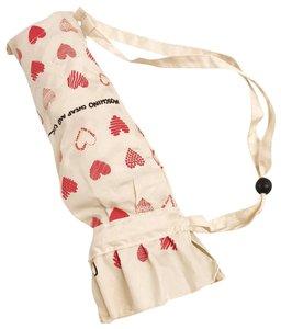 Moschino Moschino Cheap&Chic new heart auto open and close umbrella