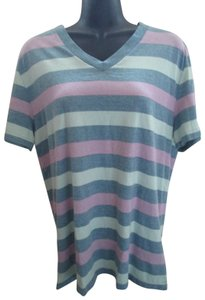 a922319fcc Urban Outfitters Striped Casual Spring Summer T Shirt Multicolored