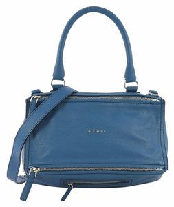 Givenchy Leather Tote in blue