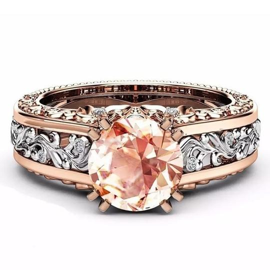 Fashion Hollow Plant Zircon Rose Gold Engagement Ring for Female Two-tone Flower Rhinestone Wedding Rings for Women Jewelry Ring Fashion Hollow Plant Zircon Rose Gold Engagement Ring for Female Two-tone Flower Rhinestone Wedding Rings for Women Jewelry Ring Image 10
