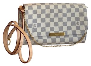 136501b23b059 Added to Shopping Bag. Louis Vuitton Cross Body Bag. Louis Vuitton Favorite  Mm Damier Azur ...
