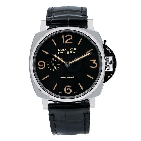 Panerai Panerai Luminor Due PAM00674 45MM Black Dial With Leather Bracelet Image 0