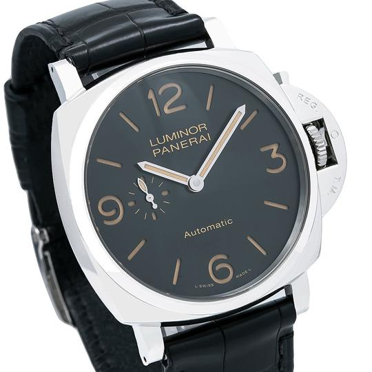 Panerai Panerai Luminor Due PAM00674 45MM Black Dial With Leather Bracelet Image 5