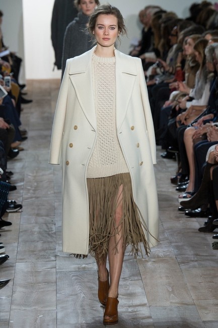 Michael Kors Collection Trench Coat Image 1