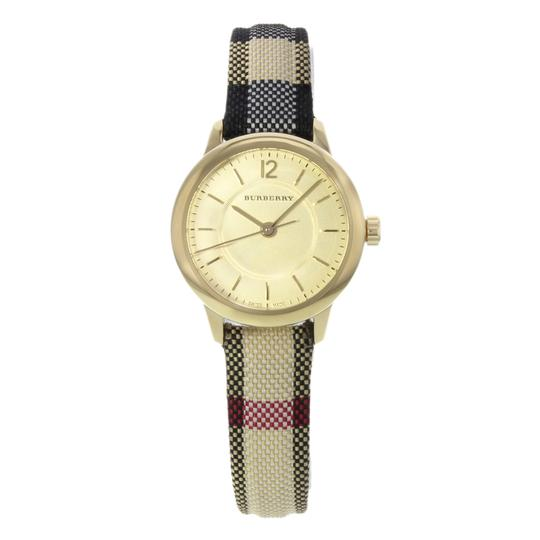 Burberry BU10201 26mm Honey Dial Stainless Steel Gold Tone Quartz Ladies Watch Image 0