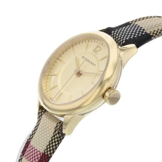 Burberry BU10201 26mm Honey Dial Stainless Steel Gold Tone Quartz Ladies Watch Image 2