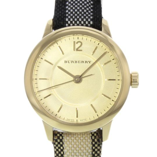 Burberry BU10201 26mm Honey Dial Stainless Steel Gold Tone Quartz Ladies Watch Image 3