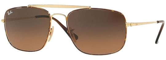 Preload https://img-static.tradesy.com/item/25240930/ray-ban-havanagold-frame-and-brown-gradient-lens-unisex-square-sunglasses-0-1-540-540.jpg