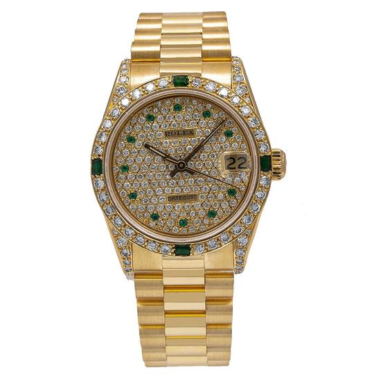 Preload https://img-static.tradesy.com/item/25240987/rolex-yellow-gold-datejust-68278-31mm-champagne-diamond-dial-with-watch-0-0-540-540.jpg