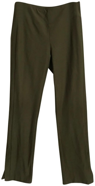 Preload https://img-static.tradesy.com/item/25241021/eileen-fisher-green-new-washable-stretch-crepe-in-xs-pants-size-2-xs-26-0-1-650-650.jpg