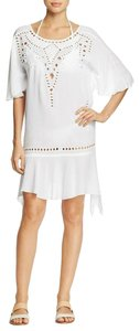 ViX short dress White Caftan Size S Caftan Size Small Swimsuit Coverup on Tradesy