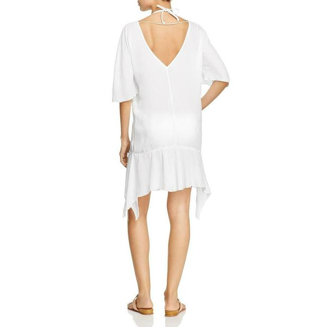ViX short dress White Caftan Size S Caftan Size Small Swimsuit Coverup on Tradesy Image 1